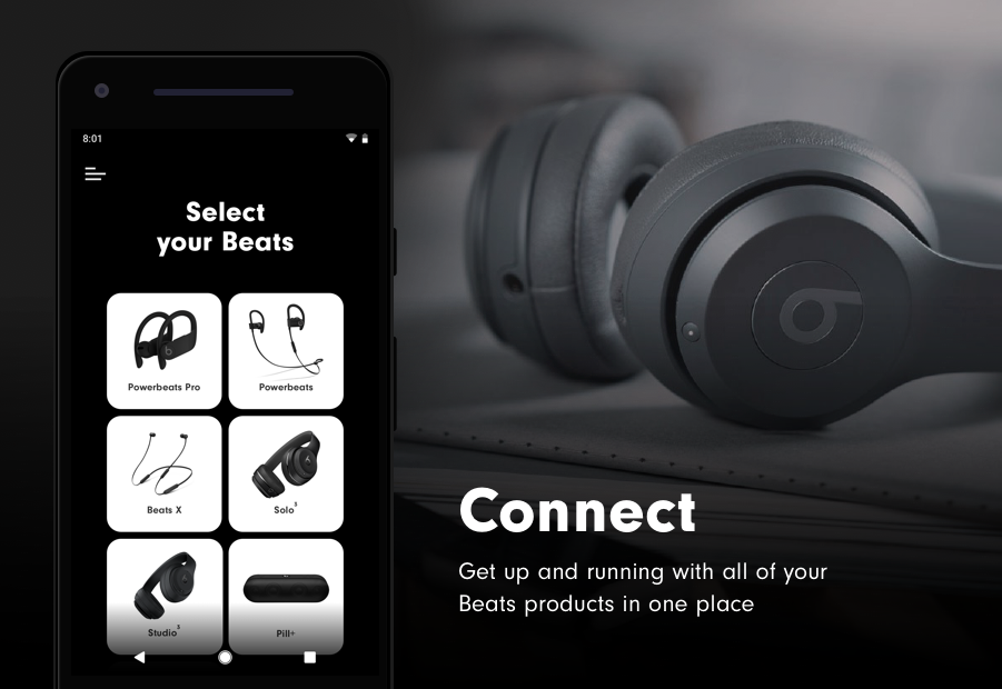 Beats studio3 wireless headphones android