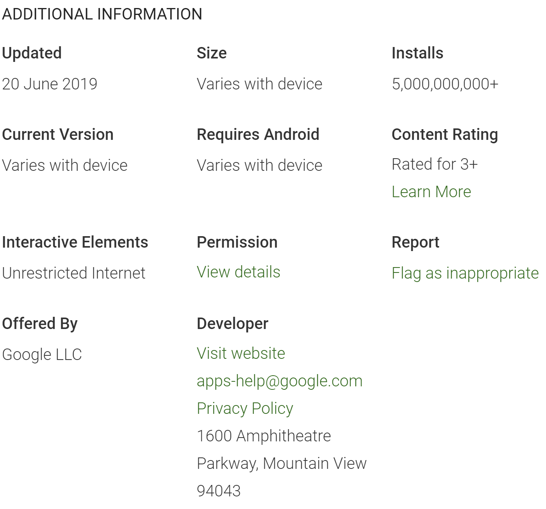 Google Chrome for Android hits 5 billion installs, 20