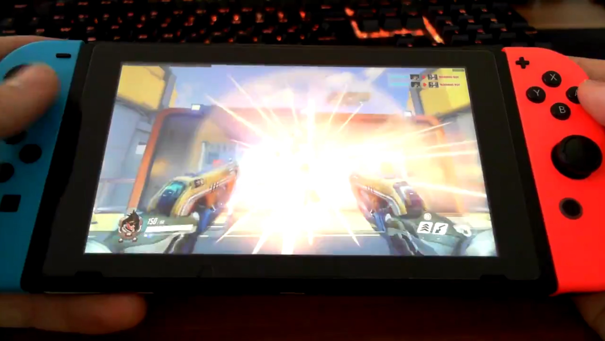 See Overwatch running on a Nintendo Switch - courtesy of Android