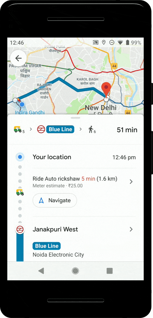 Google Maps brings new public transit features to India ... on google guangdong map, google paris map, google world map, google mexico city map, google jakarta map, google hyderabad map, google tehran map, google tamil nadu map, google pune map, google washington map, google bombay map, google uttarakhand map, google nagaland map, google kashmir map, google kuala lumpur map, google dubai map, google andhra pradesh map, google bangkok map, google moscow map,