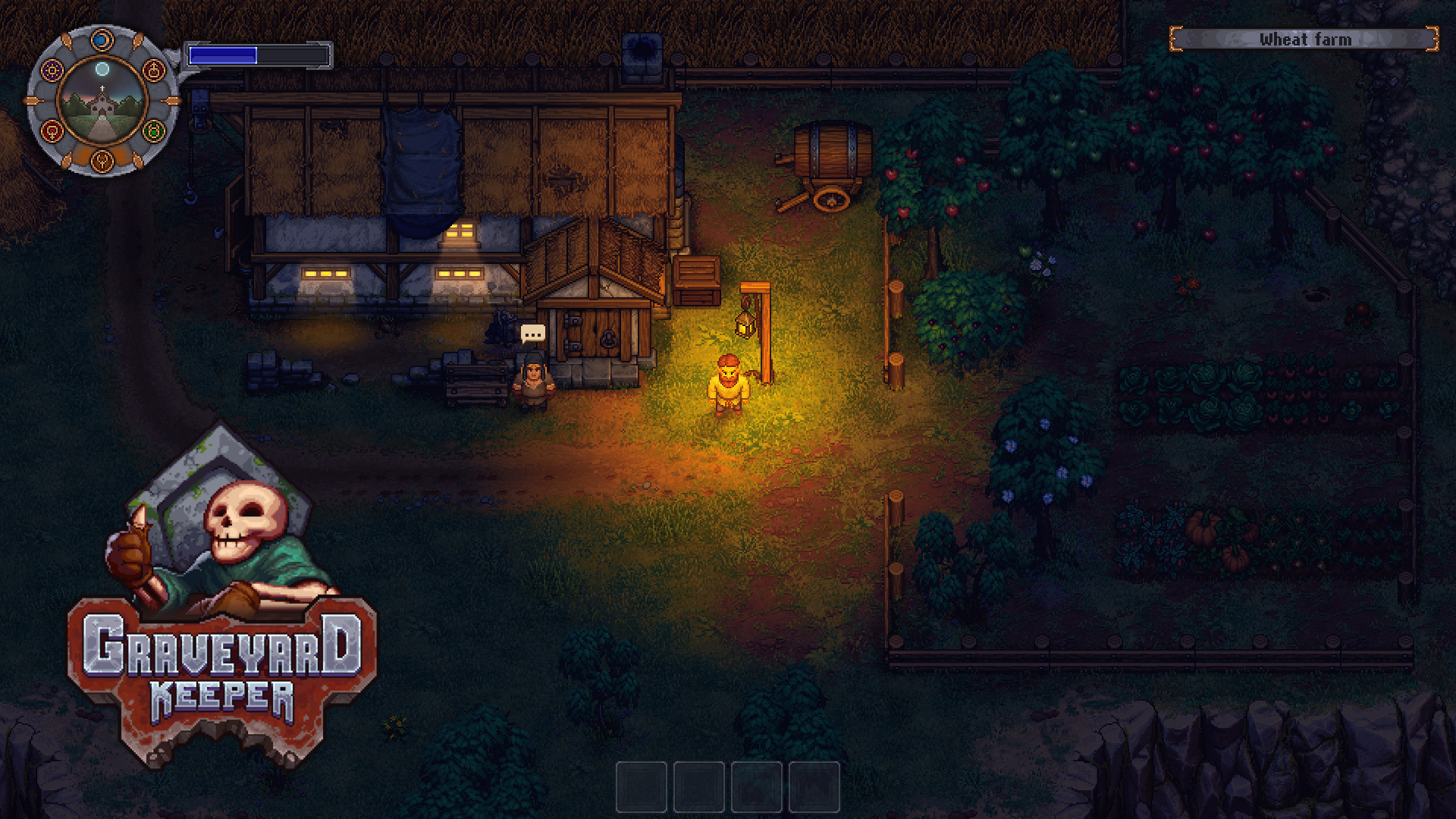 Medieval cemetery management sim Graveyard Keeper is out on
