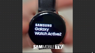 , [Update: Render, ECG, fall detection] Samsung Galaxy Watch Active2 leaks in two sizes, still no rotating bezel in sight, Next TGP