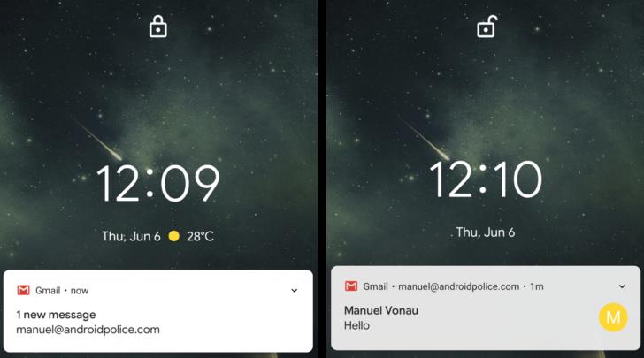 Google News - Lock screen - Latest