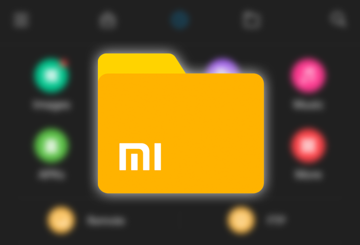Xiaomi File Manager gets a dark mode and launcher app