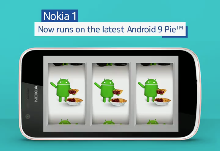 All HMD phones are now running Android 9 Pie, as the Nokia 1 gets its own update
