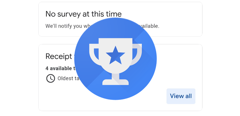 Google Opinion Rewards is testing improved receipt scanning for select US users