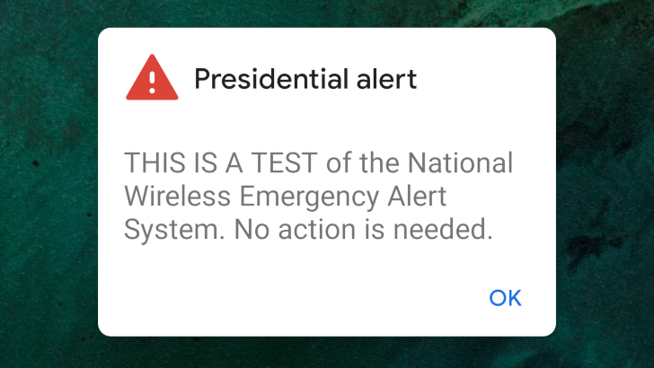 Presidential alerts can be easily spoofed, thanks to LTE security vulnerabilities