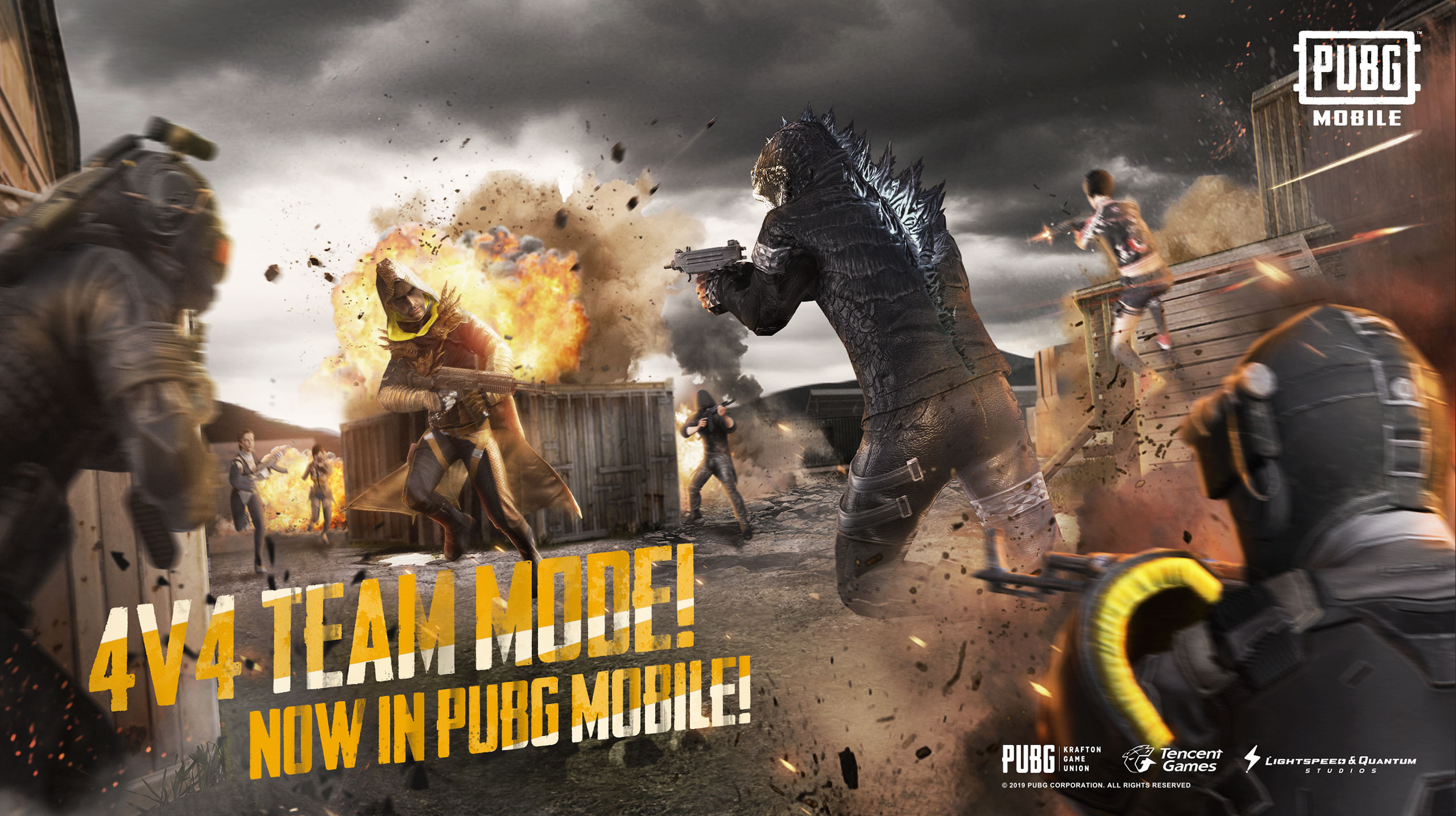 PUBG Mobile 0 13 0 update adds a new team deathmatch mode, better