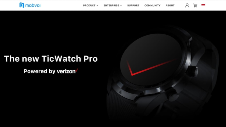 QnA VBage Looks like Mobvoi just leaked a new LTE-equipped version of the TicWatch Pro