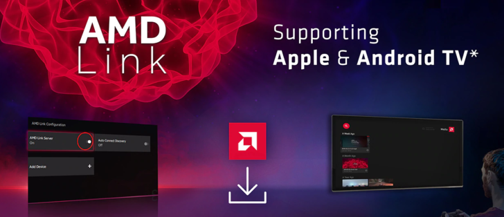AMD Link now lets you stream your PC games to Android TV and