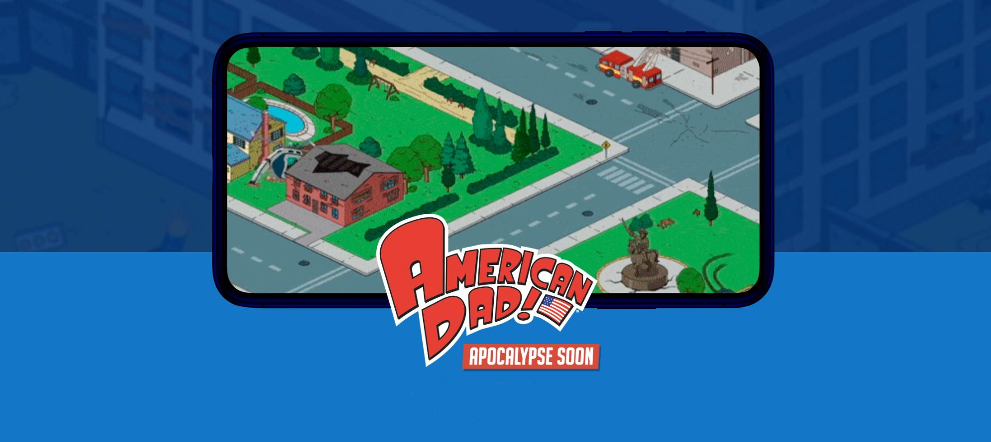 American Dad! Apocalypse is a Fallout Shelter-style strategy game, pre-registration now open