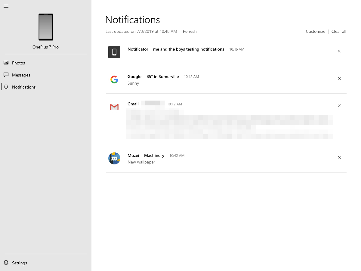Everyone can now mirror notifications between their Android