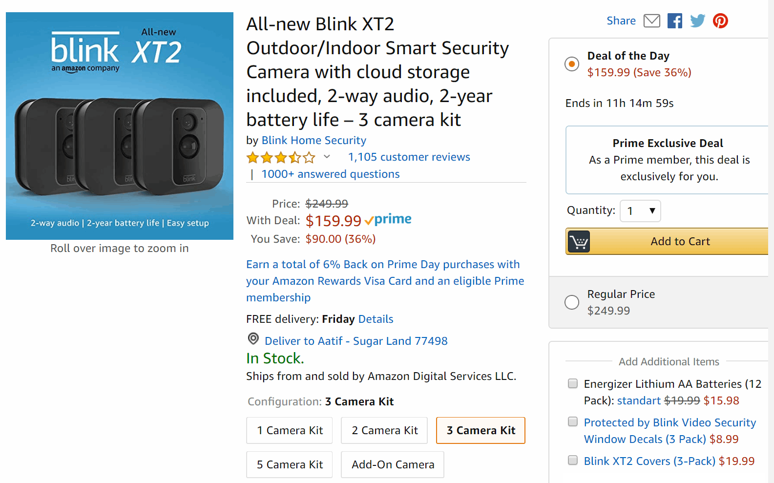 Blink XT-2 smart camera bundles are up to 44% off on sale, offer