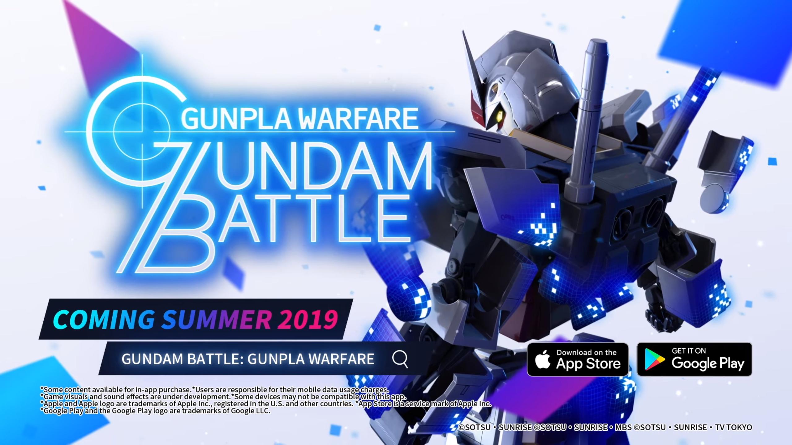 Gundam Battle: Gunpla Warfare and its free-to-play mecha
