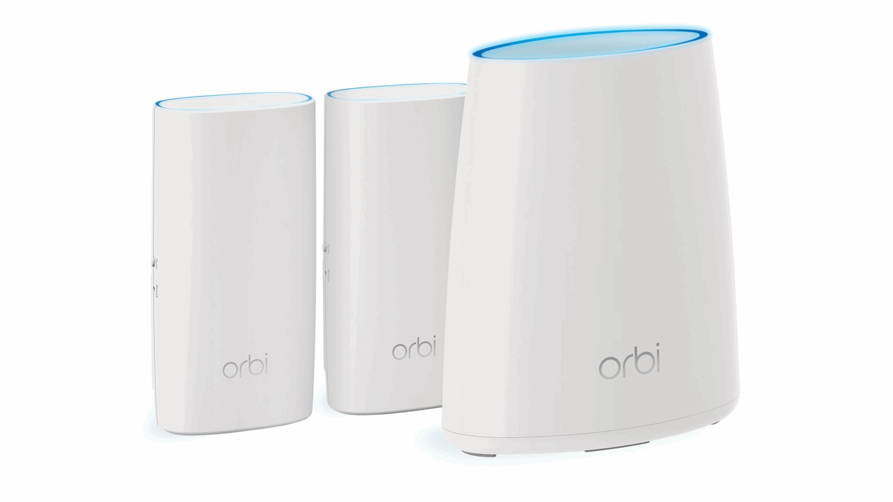 Get a Netgear Orbi RBK33 mesh Wi-Fi 3-Pack for just $195