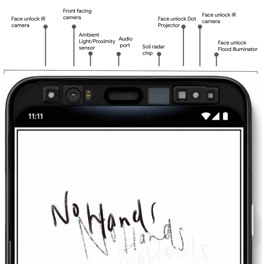 Google shares more Pixel 4 features, including Soli-based gesture controls