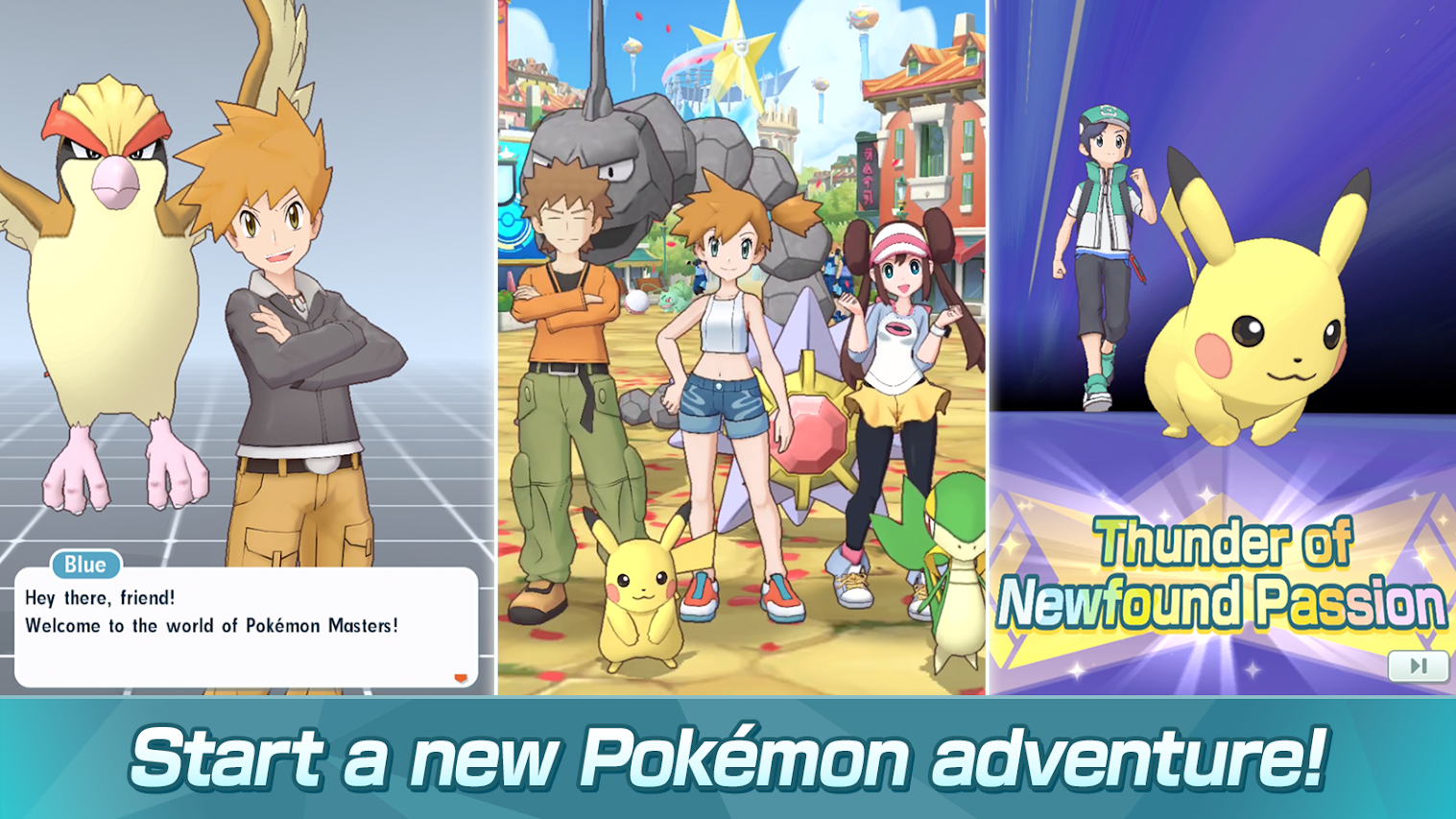 Pokémon Masters is now available for pre-registration on the Play Store