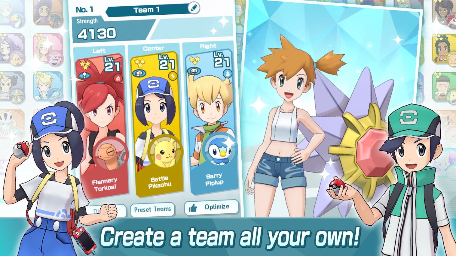 Pokemon Rumble Rush: How to Switch Pokemon