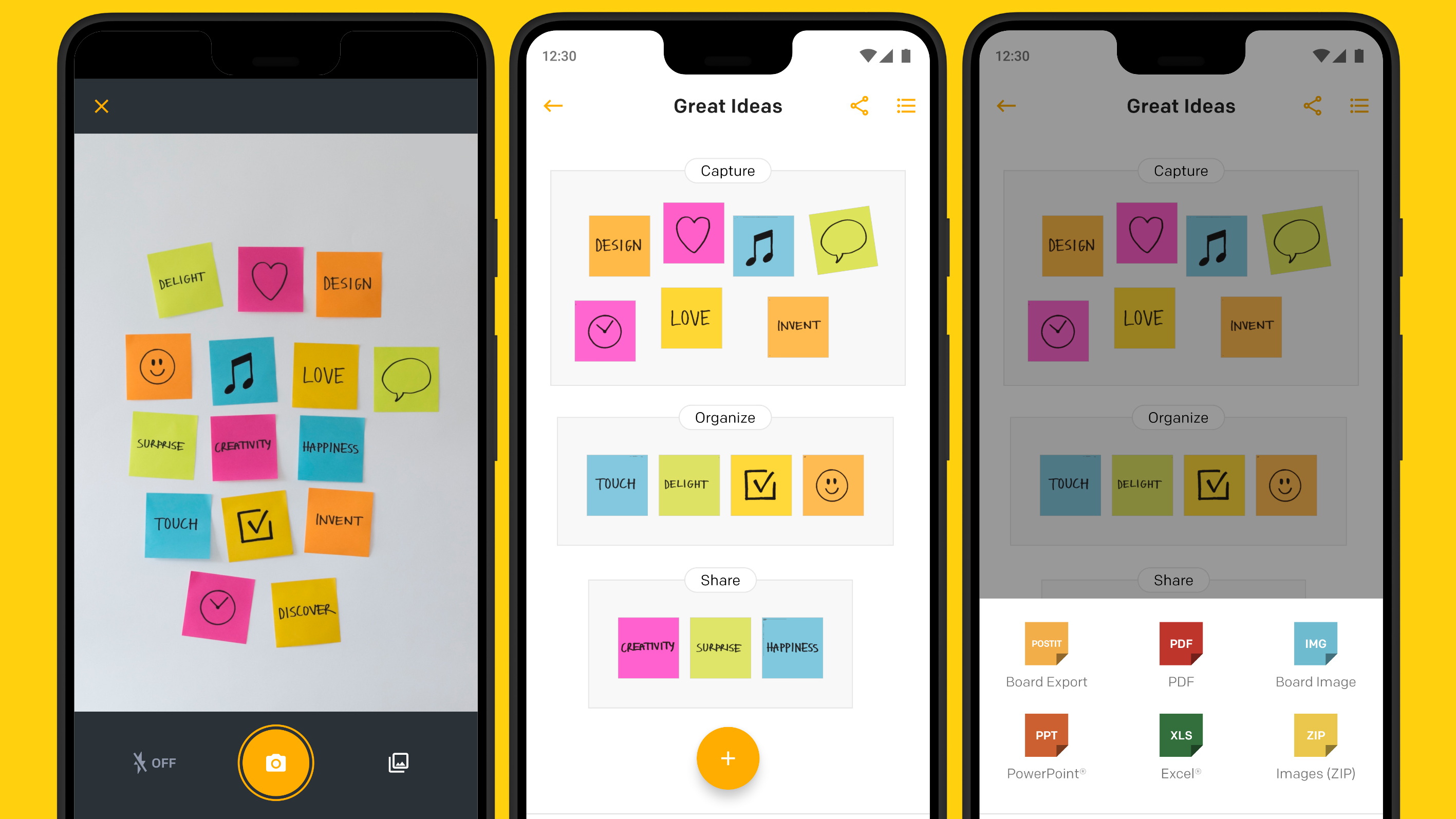 Post-it releases Android app to scan and organize sticky notes, only