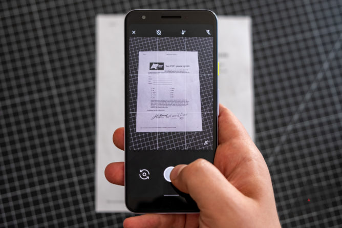 How to scan documents and photos into PDFs on Android - Android Police