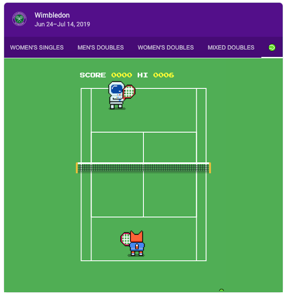 Google's Hidden Wimbledon Tennis Game Is Time-Wasting Fun