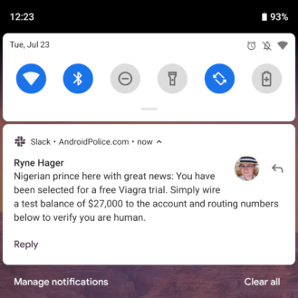 How to block spam notifications and malicious ads on Android