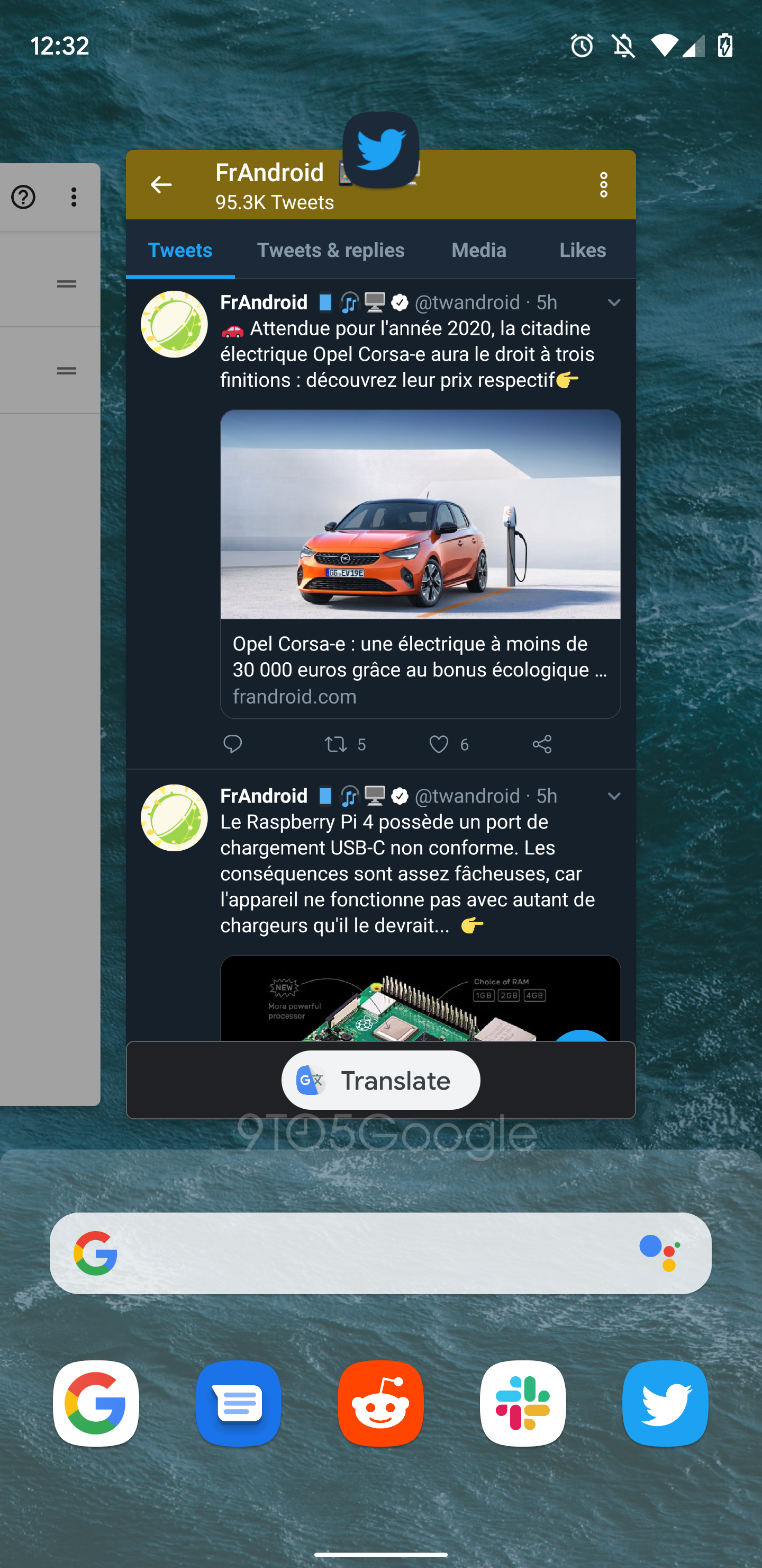 Android Q could offer to translate app previews in the
