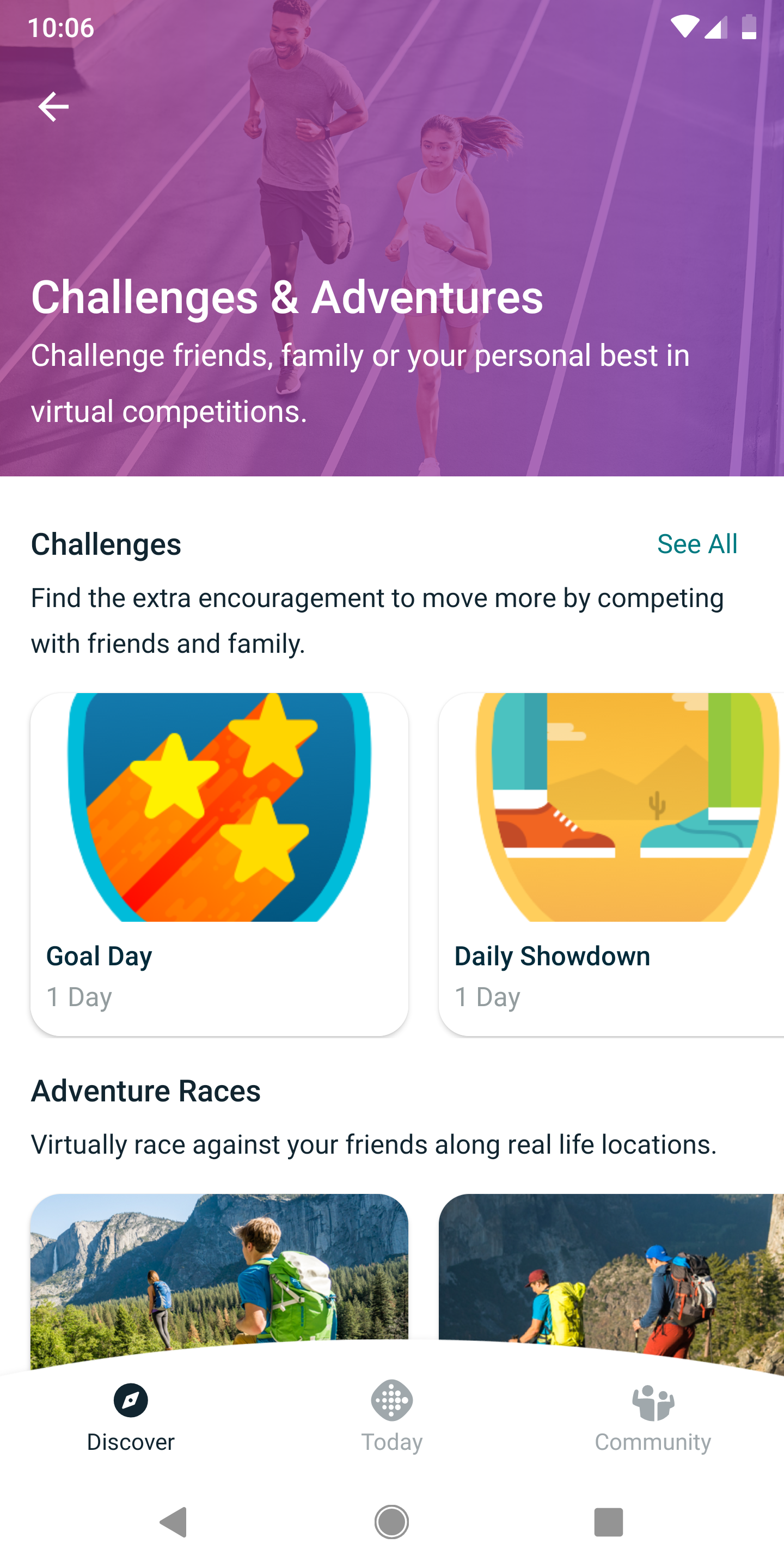 Fitbit testing new app UI with consolidated Today, Discover, and