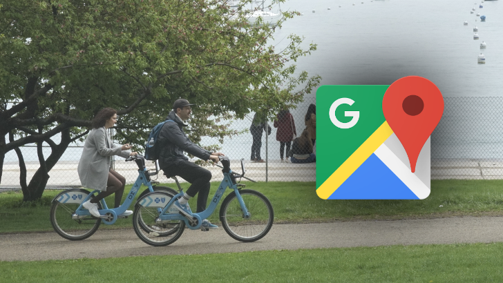 Google Maps is rolling out real-time bike sharing information