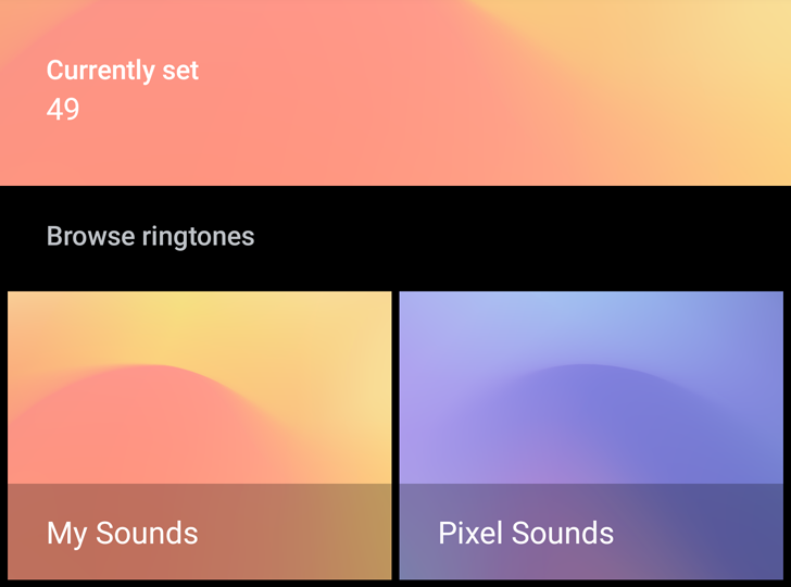 Google Sounds for Pixels gets a dark mode, lets you manually add