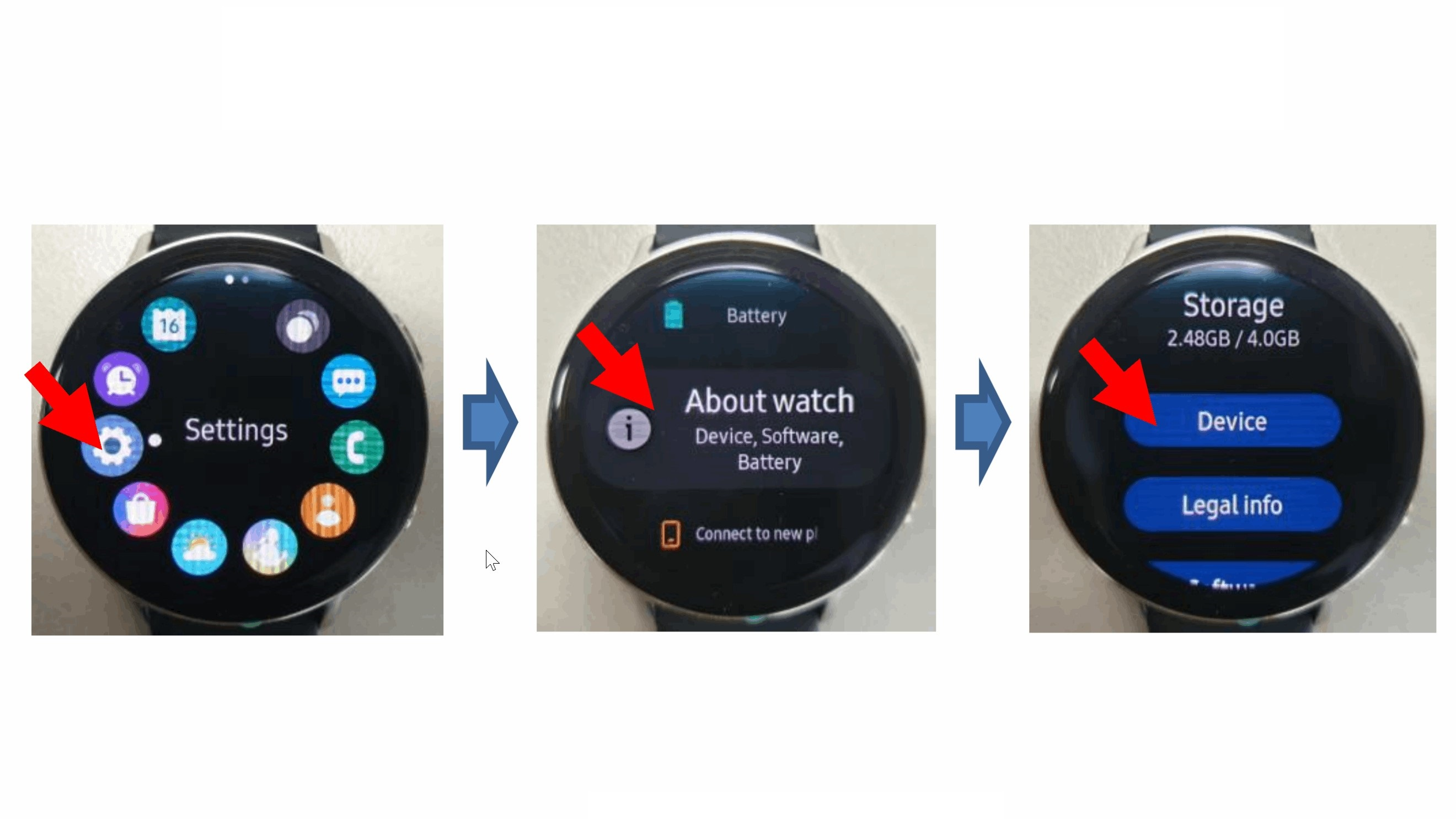 Samsung Galaxy Watch Active 2 images published in FCC filing