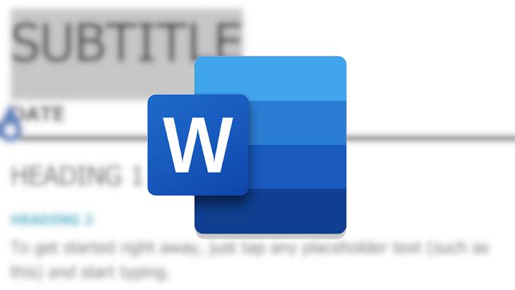 Microsoft Word passes 1 billion installs on Play Store