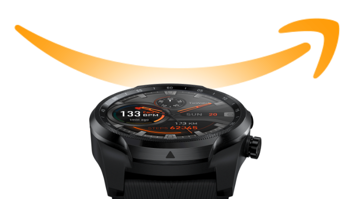 Mobvoi's Prime Day smartwatch deals include Ticwatch Pro at $175 ($75 off)