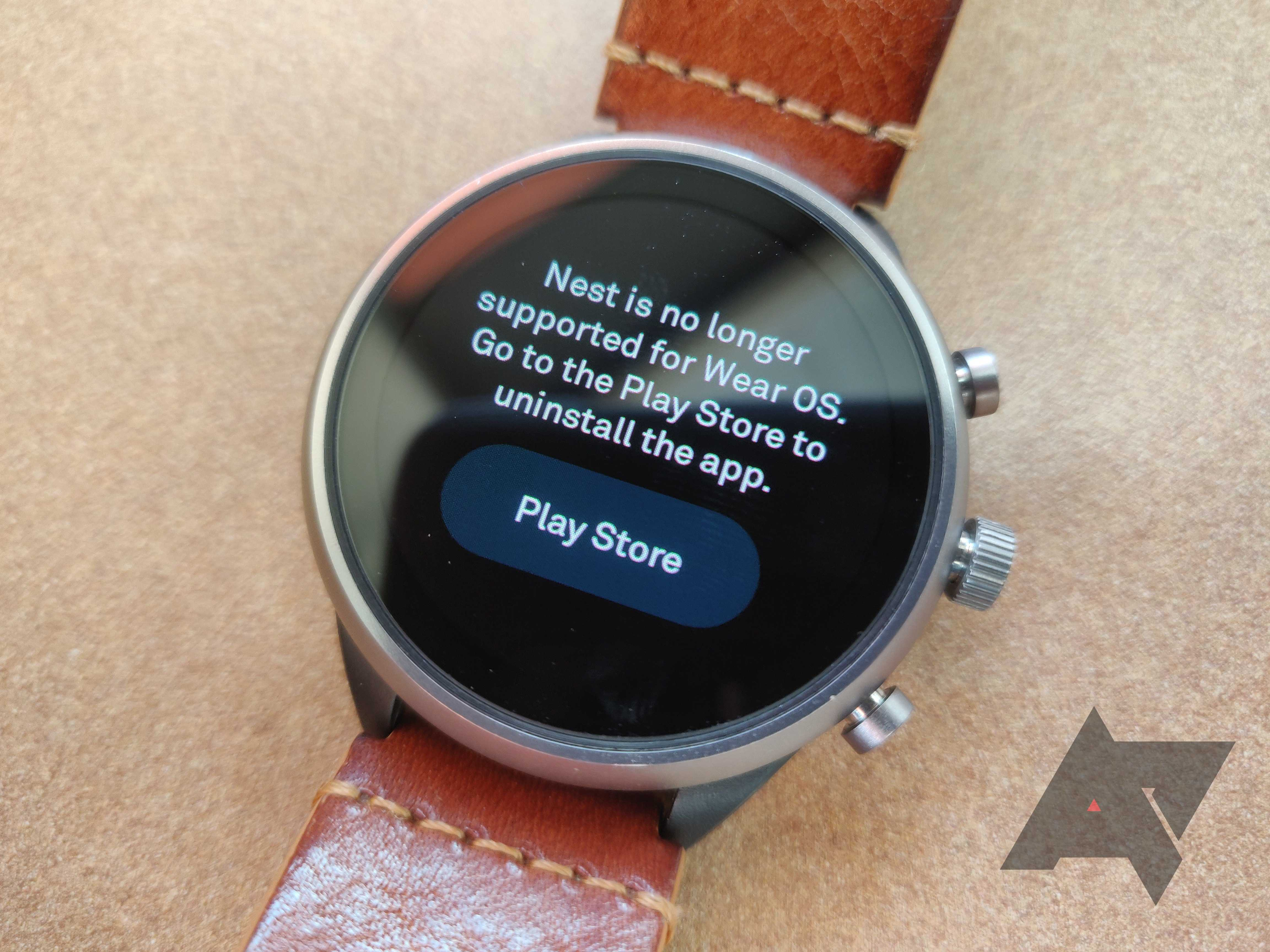 RIP Nest App for Wear OS