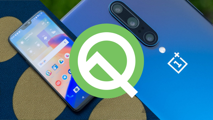 OnePlus 6, 6T, 7, and 7 Pro receive their third Android Q developer previews