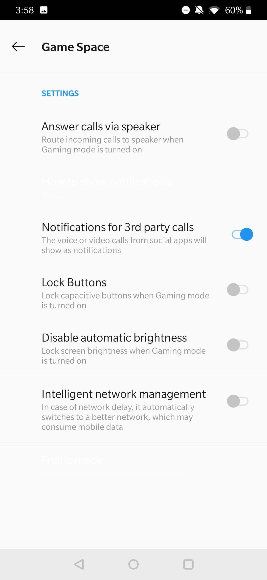 Download the new Game Space app from OnePlus' Android Q beta