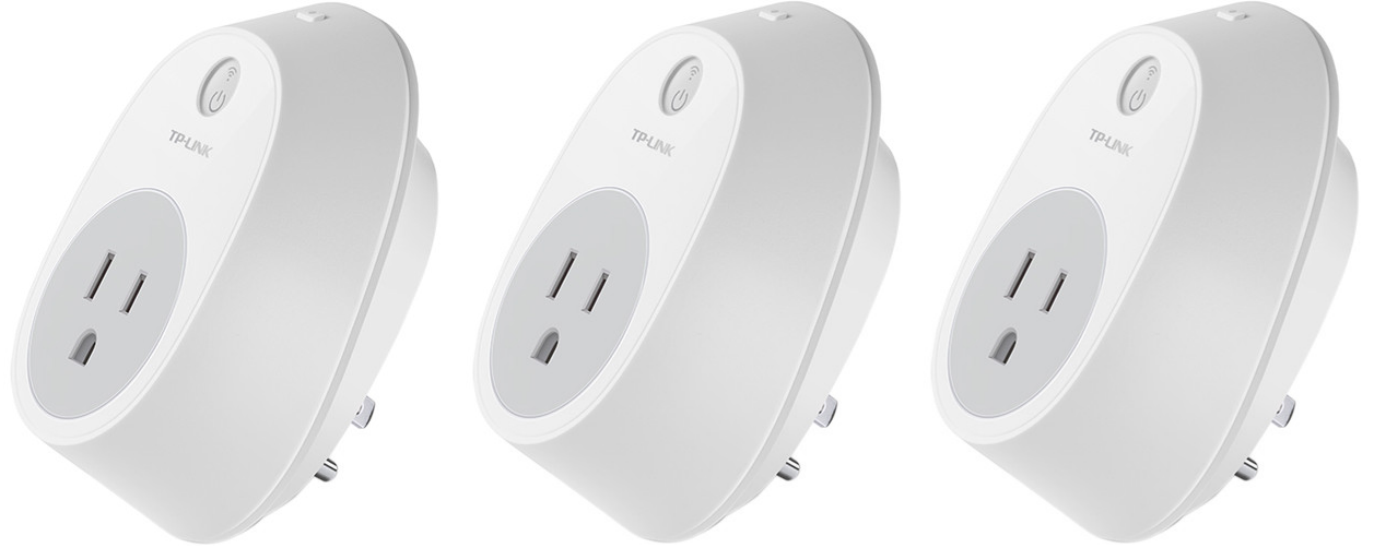 Automate all your stuff with three TP-Link smart plugs for