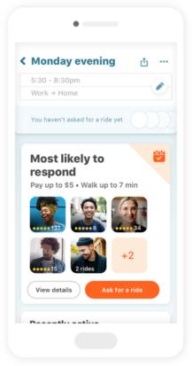 Waze Carpool updated with refreshed timeline design