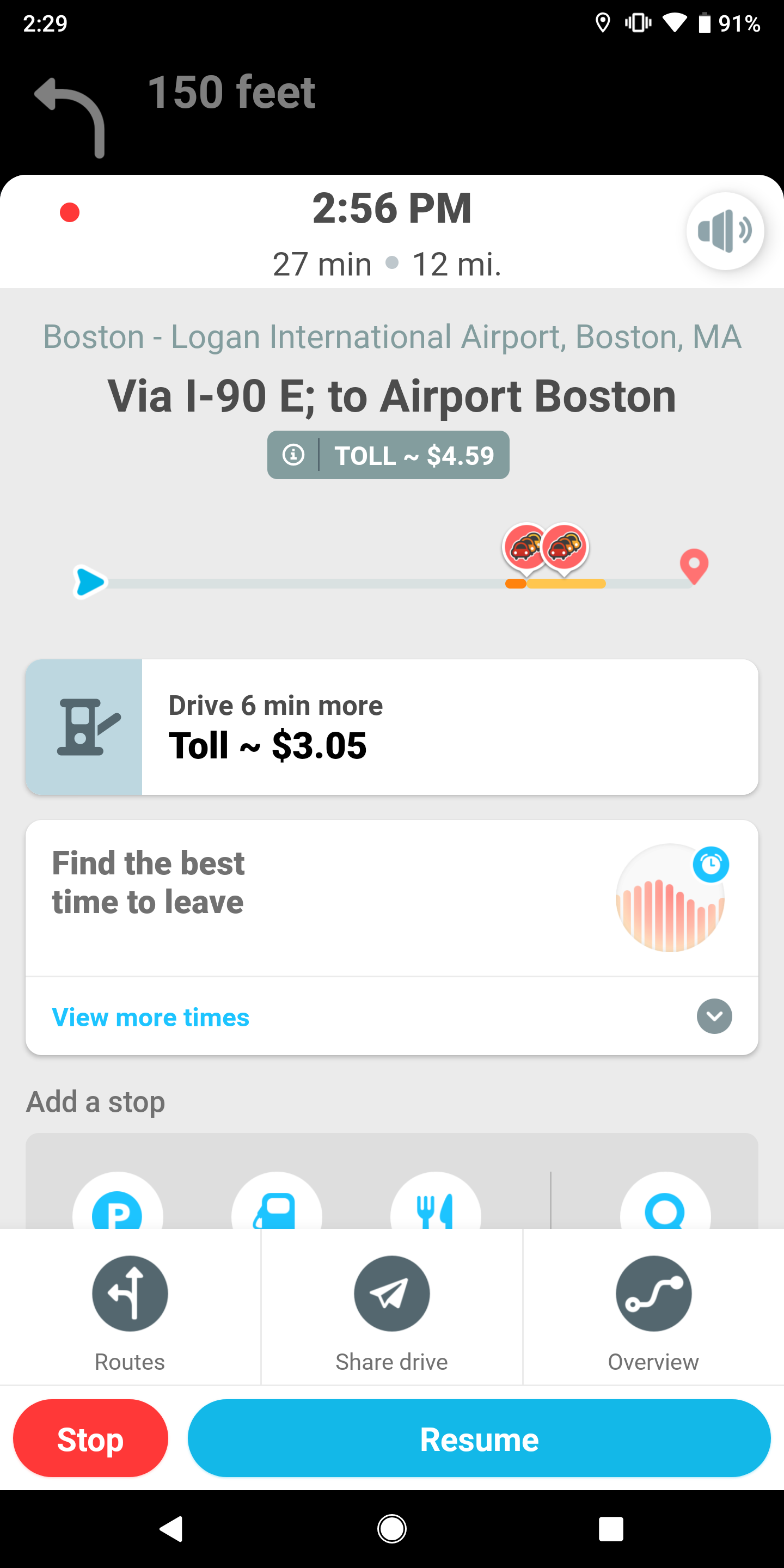 Waze starts estimating toll prices on your route