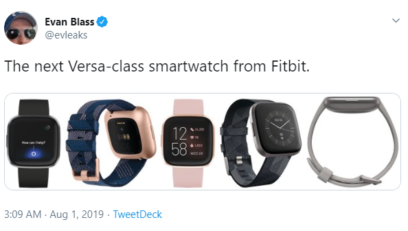 This is what Fitbit's Alexa-powered Versa 2 smartwatch looks like
