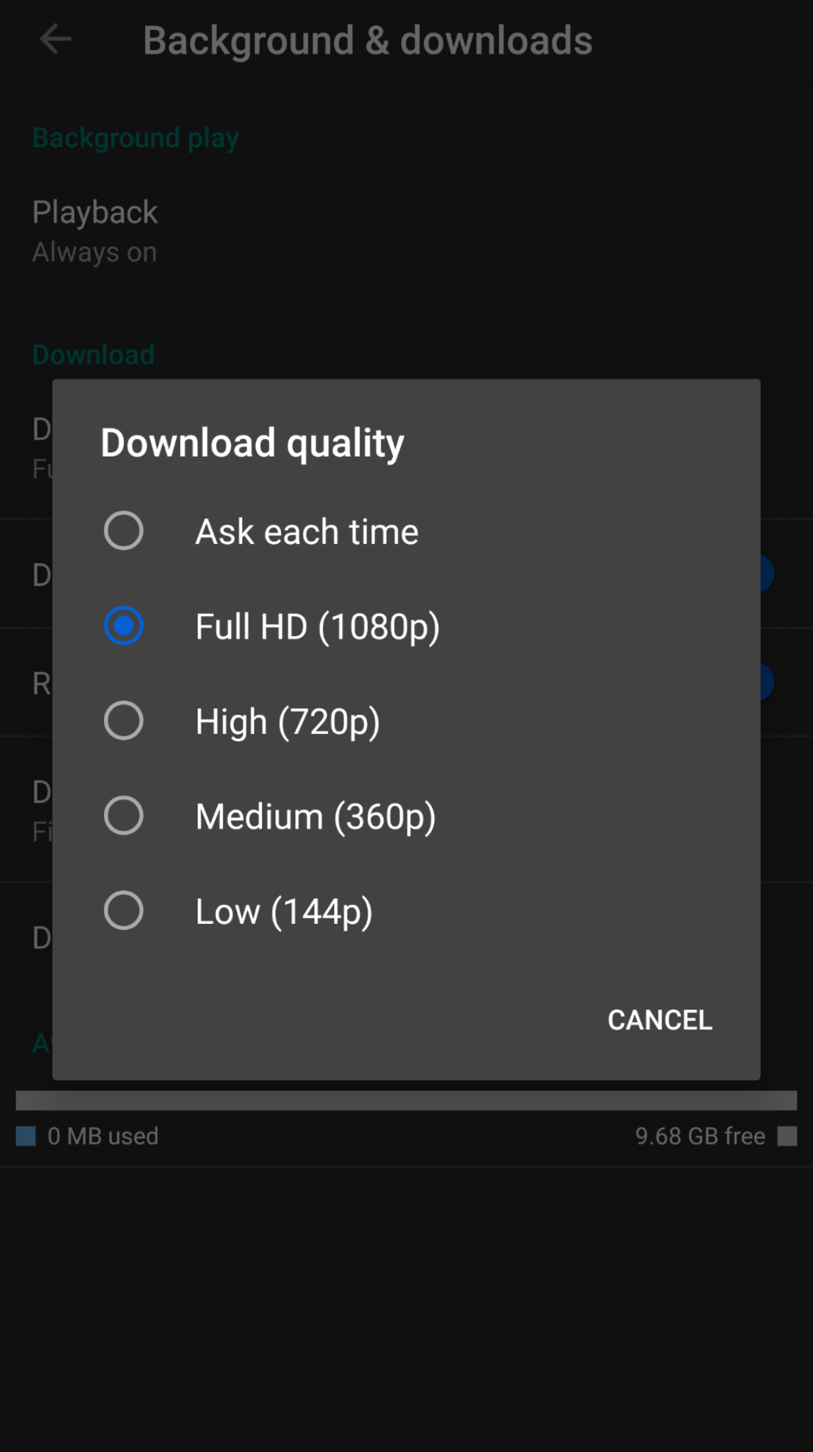Update: Spotted on Android] YouTube Premium getting 1080p offline