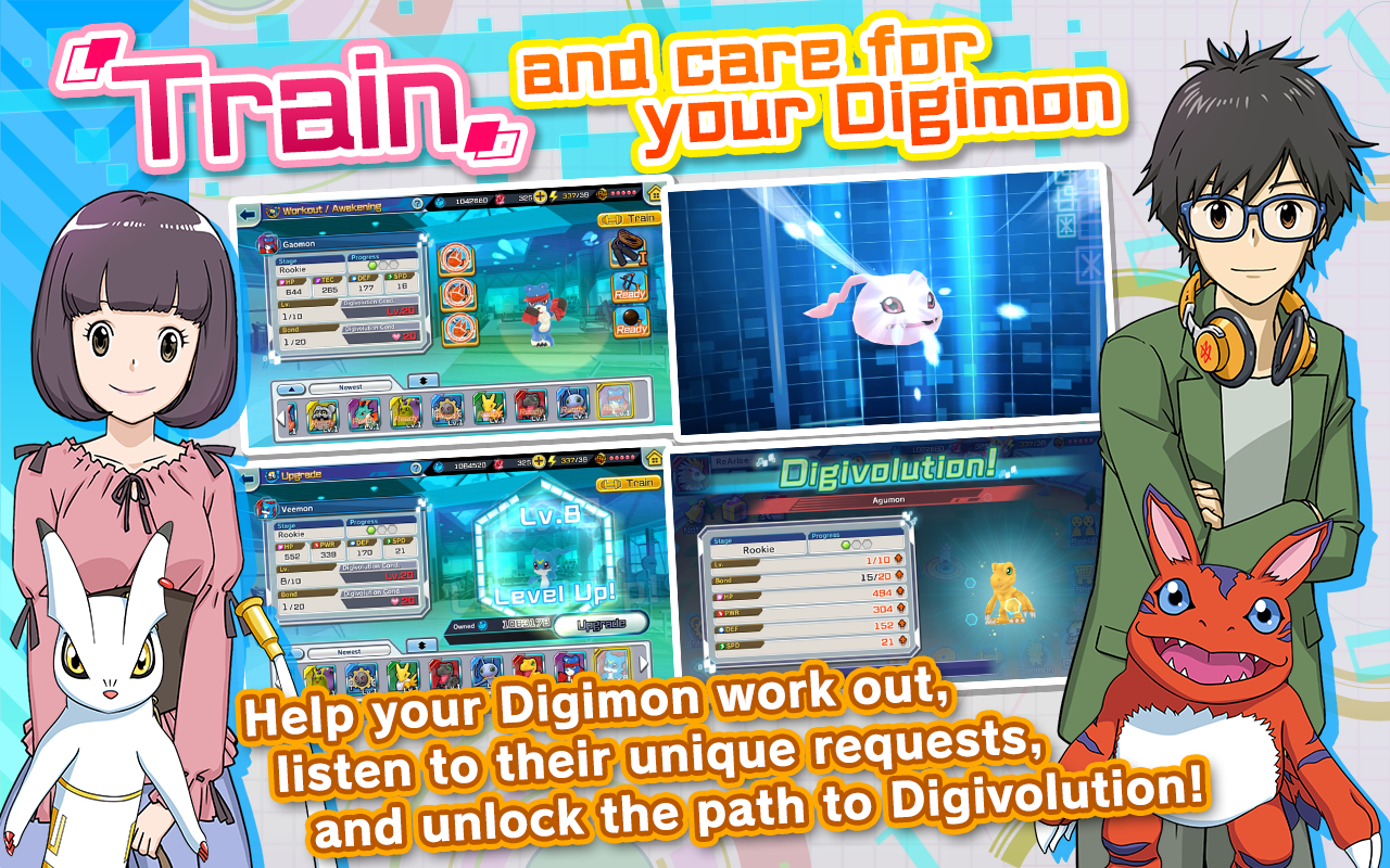 Pre-registration for Digimon ReArise is now open