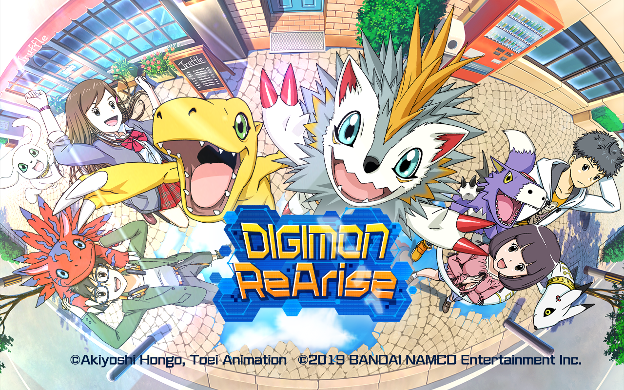 Digimon ReArise Smartphone Game Heads West This Year