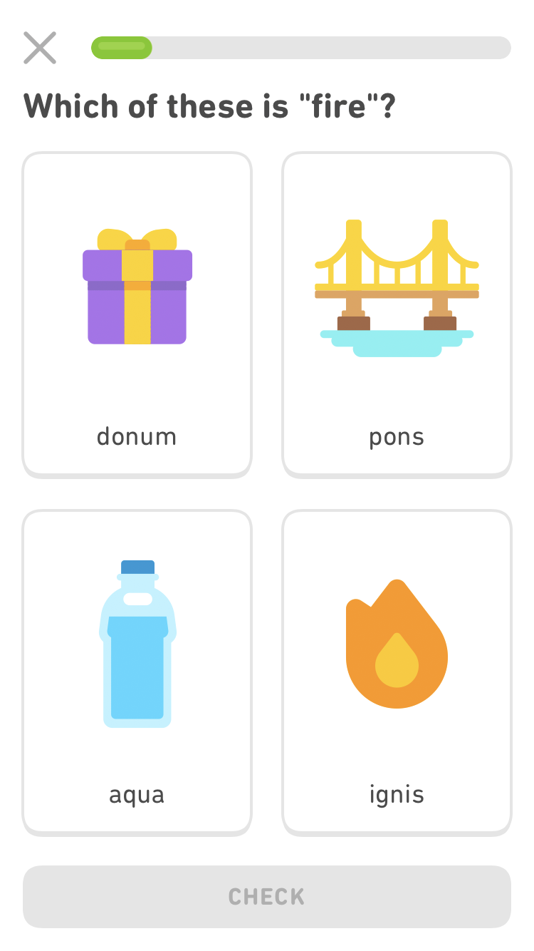 Duolingo adds support for Latin