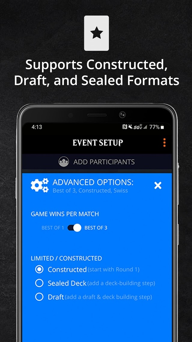 Magic: The Gathering Companion is a new app in early-access that's useful for creating home tournaments