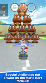 Mario Kart Tour is available on the Play Store for pre