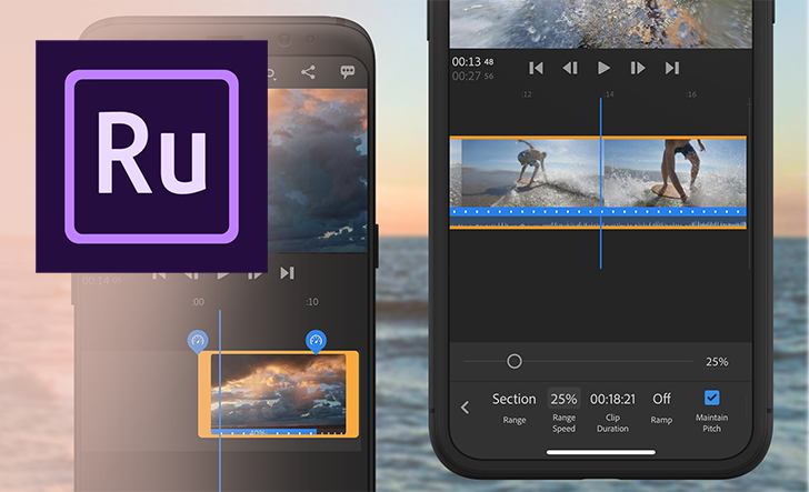 Adobe adds speed controls to Premiere Rush for epic slow