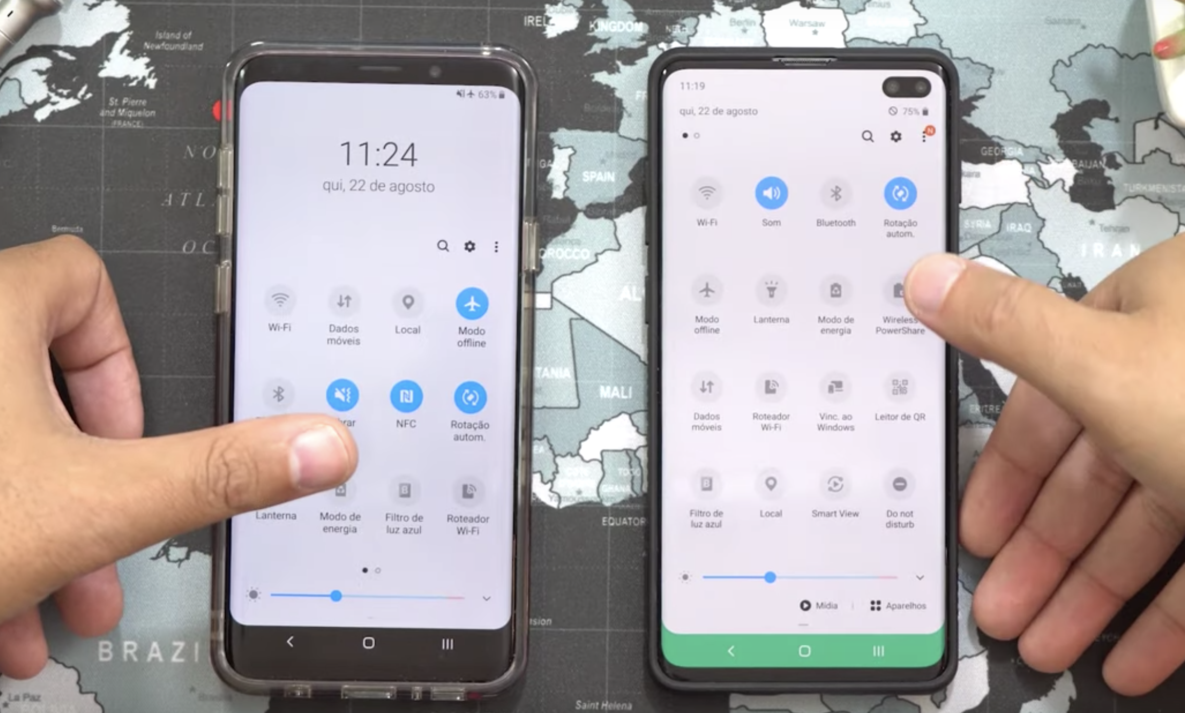 Purported Samsung Android 10 developer build shows a largely unchanged One UI 2.0