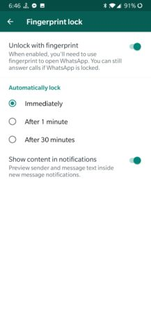 , WhatsApp's fingerprint unlock feature arrives on Android in latest beta [APK Download], Next TGP