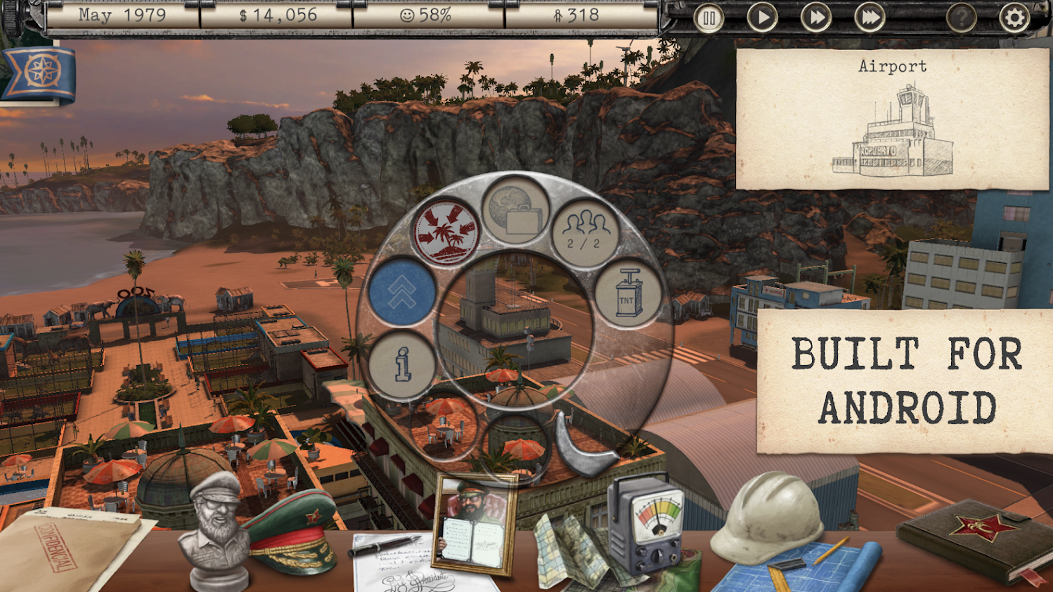 Tropico is finally coming to Android September 5, and you